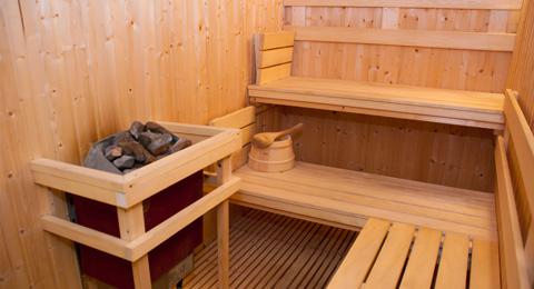 Shanti sadan for Koi pool and sauna